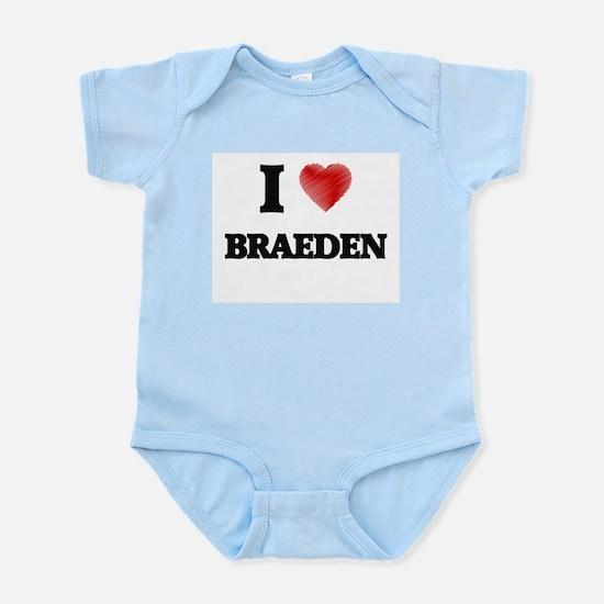 I love Braeden Body Suit