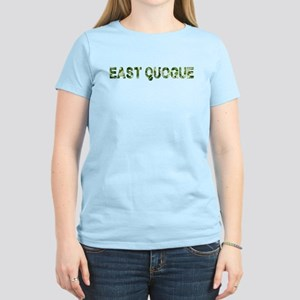 East Quogue, Vintage Camo, Women's T-Shirt