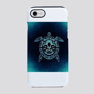 Turquoise Abstract Shell Sea iPhone 8/7 Tough Case