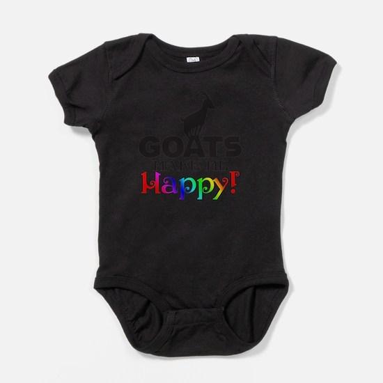 Cute Goat Baby Bodysuit