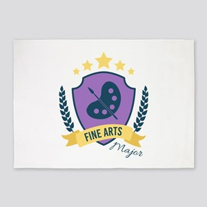 Fine Arts Major 5'x7'Area Rug