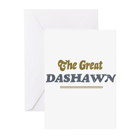 Dashawn Greeting Cards (Pk of 10)