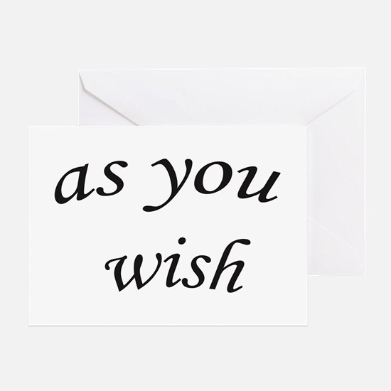 Cute Wish Greeting Card