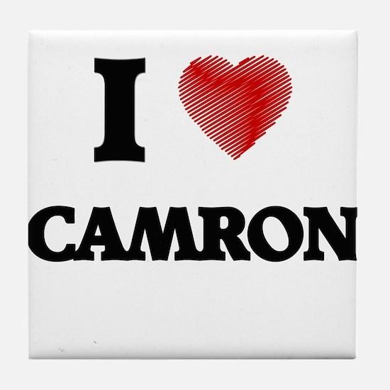 I love Camron Tile Coaster