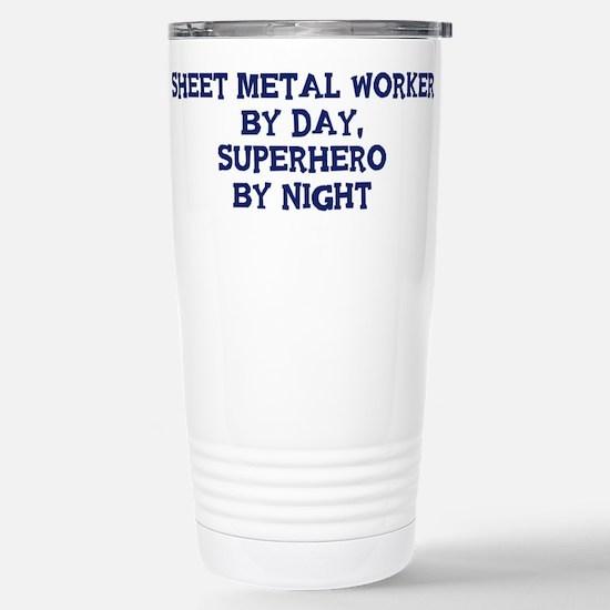 Sheet Metal Worker by day Mugs