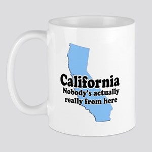 California Not From Here Mug