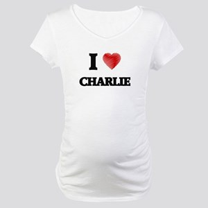 I love Charlie Maternity T-Shirt
