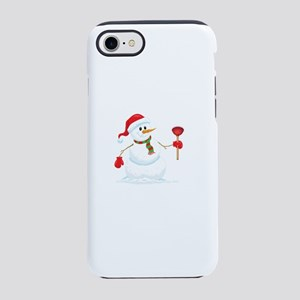 Snowman Plumber iPhone 8/7 Tough Case