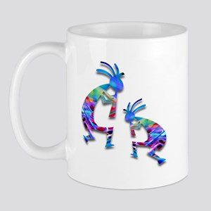 Blue Wave Kokopelli Mug