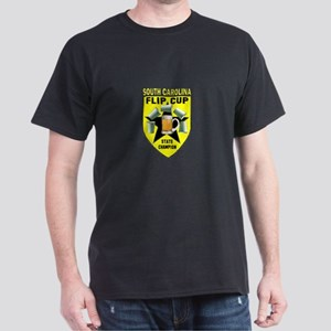 South Carolina Flip Cup State Dark T-Shirt