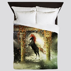 Wonderful horse Queen Duvet