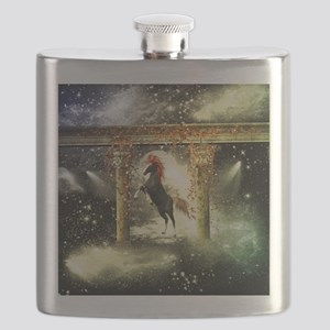 Wonderful horse Flask