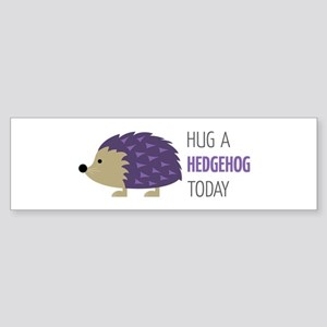 Hug A Hedgehog Bumper Sticker