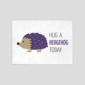 Hug A Hedgehog 5'x7'Area Rug