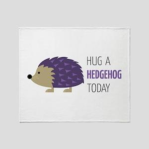 Hug A Hedgehog Throw Blanket