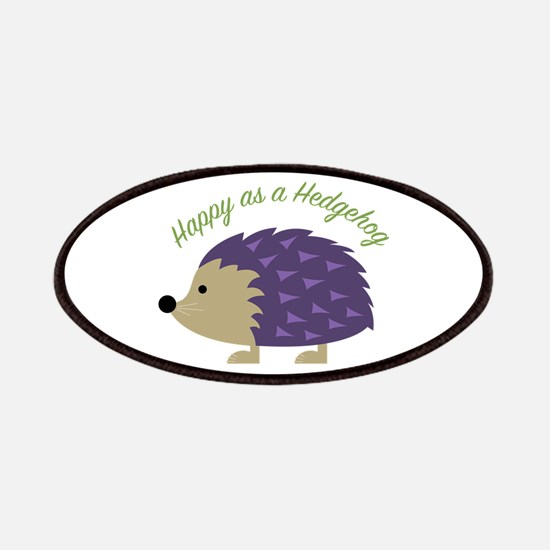 Happy As Hedgehog Patch