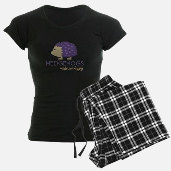 Happy Hedgehogs Pajamas