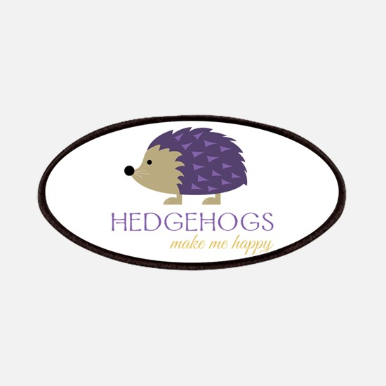 Happy Hedgehogs Patch