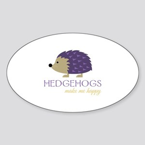 Happy Hedgehogs Sticker