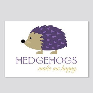 Happy Hedgehogs Postcards (Package of 8)