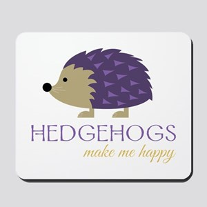 Happy Hedgehogs Mousepad