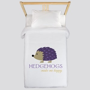 Happy Hedgehogs Twin Duvet