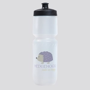 Happy Hedgehogs Sports Bottle