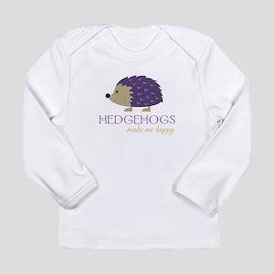 Happy Hedgehogs Long Sleeve T-Shirt