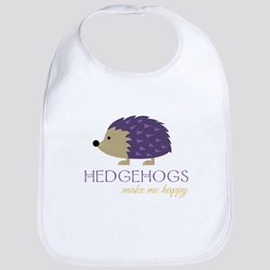 Happy Hedgehogs Bib