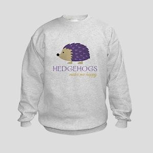 Happy Hedgehogs Sweatshirt