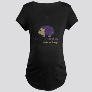Happy Hedgehogs Maternity T-Shirt