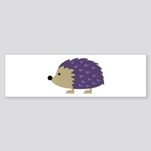 Hedgehog Bumper Sticker