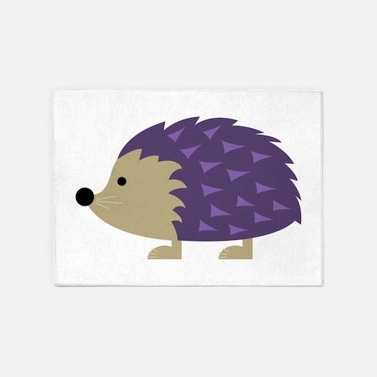 Hedgehog 5'x7'Area Rug