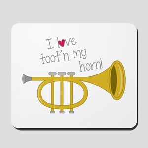 Tootn My Horn Mousepad