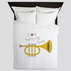 Tootn My Horn Queen Duvet