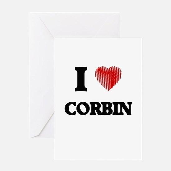 I love Corbin Greeting Cards