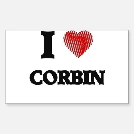 I love Corbin Decal