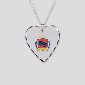 Theatre Shield Necklace