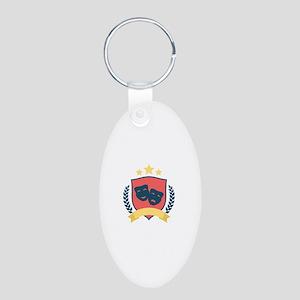 Theatre Shield Keychains