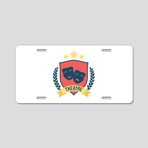 Theatre Aluminum License Plate