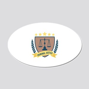 Criminal Justice Wall Decal