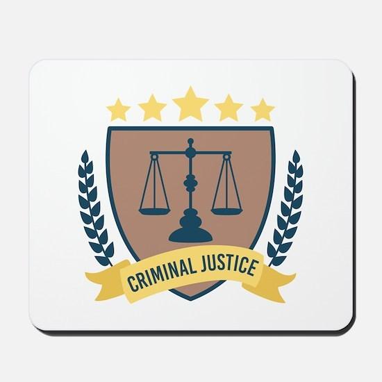 Criminal Justice Mousepad