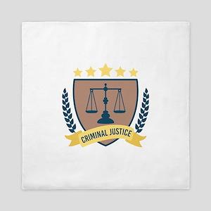 Criminal Justice Queen Duvet