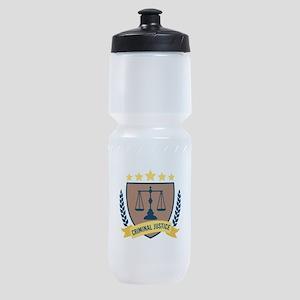 Criminal Justice Sports Bottle