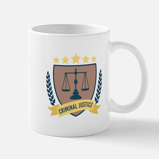 Criminal Justice Mugs