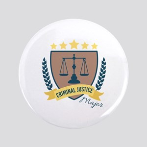 Criminal Justice Major Button