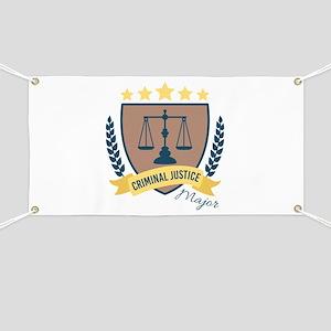 Criminal Justice Major Banner