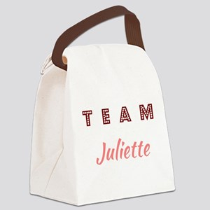 TEAM JULIETTE Canvas Lunch Bag