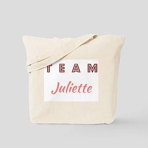 TEAM JULIETTE Tote Bag
