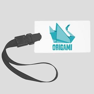 Origami Luggage Tag